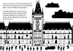 Inaugurarea Palatului Culturii din Iași on Behance Behance, Illustrations, Illustration
