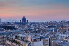 Belle photo de Paris de haut – une idée comment éprouver Paris
