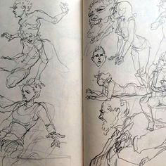 #sketch #sketchbook #drawing  #anatomy #art #doodle #dailysketch #portrait…
