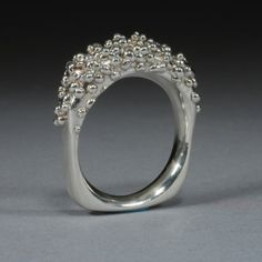 Seed Ring in sterling silver