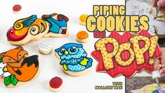 Create any cookie you can dream up using fun piping techniques! Learn how with lifetime access to expert-led online lessons. Watch anytime, anywhere.