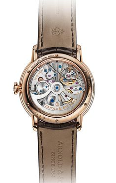 Showing at WatchTime IBG 2014: Arnold and Son rear view