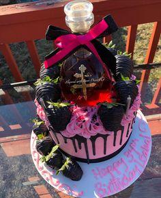 Alcohol Birthday Cake, 22nd Birthday Cakes, Alcohol Cake, Bithday Cake, Special Birthday Cakes, Custom Birthday Cakes, Pretty Birthday Cakes, Adult Birthday Cakes, Birthday Wishes