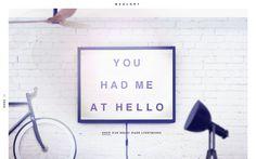 BXXLGHT | Best Website Gallery – Web Design Trends –hand picked by @davidhellmann