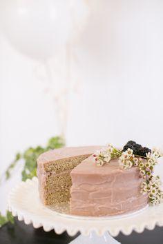 Vanilla, Berry + Lavender Cake-Vegan (Scroll down for recipes) photo by eva derrick photography Cupcakes, Cake Cookies, Cupcake Cakes, Pretty Cakes, Beautiful Cakes, Amazing Cakes, Vegan Cake, Vegan Desserts, Sweet Recipes