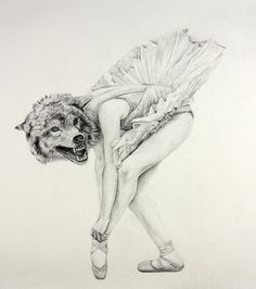 Las bailarinas son delicadas como una rosa pero también pueden ser mas feroces de lo que te imaginas ... Ten cuidado ;)