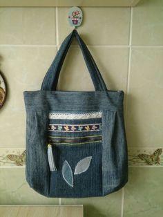 Моя джинсовая сумка