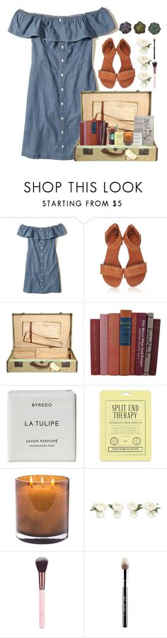 """""""200 followers!!!!"""" by lindonhaley ❤ liked on Polyvore featuring Hollister Co., Byredo, Love 21, Laura Mercier, NDI, Luxie and Sigma"""