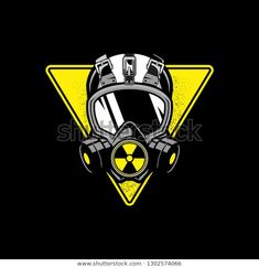 Find pictures stock of Gas Mask Shape Triangular Nuclear Symbol in HD and millions of other photos, illustrations and vector images free of rights in the collection of Shutterstock. Thousands of new high-quality photos are added every day. Gas Mask Drawing, Gas Mask Art, Masks Art, Team Logo Design, Doodle Tattoo, Graffiti Wallpaper, Photo Logo, Game Logo, Skull Art