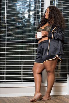 What is Your Cacique Holiday Lingerie and Lounge Style? Holiday Lingerie, Best Lingerie, Plus Size Lingerie, Plus Size Fashion For Women, Plus Size Women, Plus Size Dresses, Plus Size Outfits, Thick Girls Outfits, Loungewear Outfits