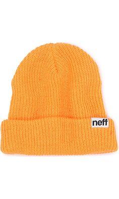 Neff Men's Fold Beanie, Orange, One Size Best Price