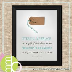 Family and Marriage Printables | Mormon Mommy Blogs