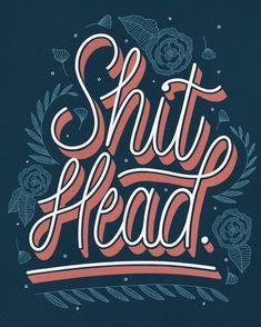 By @srhkmdesigns on Instagram Lettering, Type, Typography, Florals, Doodles, Homwork, Graphic Design, Handlettering, Sketch, Procreate, Inspiration, Ipad