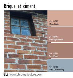 Retrouvez toute l'offre couleur du nuancier CHROMATIC® FACADE sur www.chromaticstore.com #inspiration #peinture #façade