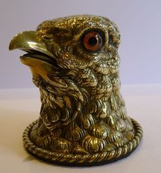 Eagle Figural Inkwell