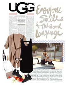 """""""The New Classics With UGG: Contest Entry"""" by piedraandjesus ❤ liked on Polyvore featuring UGG, OPTIONS, Bueno, Miss Selfridge, Maybelline, Chanel, Gucci and ugg"""