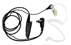 Xfox MultiPin FBI Style Covert Acoustic Tube Earpiece PTT Headset EarpieceFor Motorola Radio GP328 GP338 GP1280 HT750 MTX850 PRO5450 PTX700 etc ** Click image to review more details.(This is an Amazon affiliate link and I receive a commission for the sales)