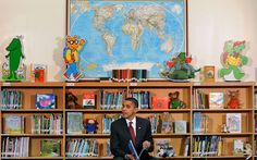 """This story originally appeared on Businessinsider.com. Barack Obama is a major bookworm.In his book """"Dreams from My Father,"""" he reflected on his lifelong love of literature: """"When I wasn't..."""