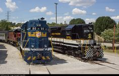 RailPictures.Net Photo: TVRM 3170 Tennessee Valley Railroad Museum EMD SD40 at Chattanooga, Tennessee by Casey Bell