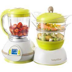 Robot de cuisine nutribaby pour préparer de bons petits plats. Sans BPA.