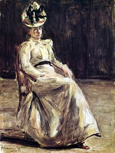 Max Liebermann - Bildnis Anna Liebermann  was a German-Jewish painter and printmaker, and one of the leading proponents of Impressionism in Germany