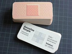 Band Aid Business Card