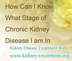 How can i know what stage of Chronic Kidney Disease i am in ? CKD is initially without specific symptoms and is generally only detected as an increase in serum creatinine or protein in the urine, so according to the creatinine level, we can know which stage are you in.