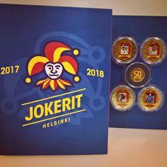 Jokereiden Legendat kullattuina mitaleina yksissä kansissa! #jokerit Cereal, Box, Breakfast, Egg, Morning Coffee, Snare Drum, Boxes, Breakfast Cereal, Corn Flakes