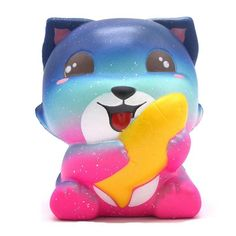 Premium Squishie - Fox with Fish