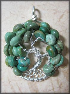 December Tree  Tree of Life Pendant in by PhoenixFireDesigns, $45.00