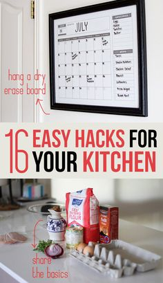 16 Easy Hacks For Your Shared Kitchen
