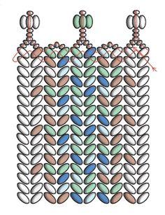 CosplaySupplies.com -- Tutorials > Twin Beads Tweed Bracelet