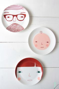 IDA interior lifestyle: Donna Wilson & our family in plates