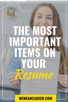 Don't miss this resume tip! There are some things you should always include while writing a resume so don't forget them. Resume Advice, Manager Resume, Career Advice, Resume Ideas, Resume Help, Work On Writing, Writing Tips, Customer Service Resume, Resume Profile