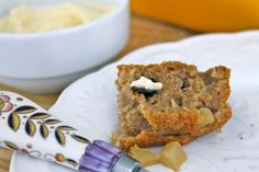 Ginger Cinnamon Apple Bread - The Fit Cook - Healthy Recipes - Skinny Recipes