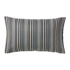 IKEA - STRANDKÅL, Cushion cover, The zipper makes the cover easy to remove.