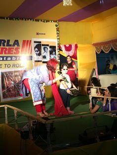 Samriddhi the rockstar @ Puja 2015