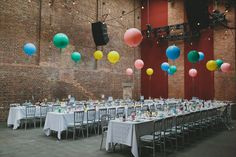balloon reception