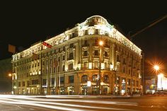 National Hotel in Moscow, Russia
