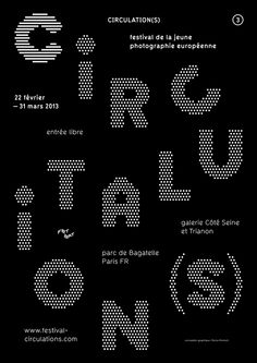 Circulation(s), poster submitted and designed by Florian Pentsch (2013)–Type OnlyUnit Editions