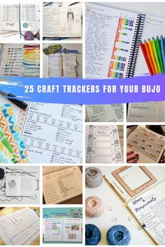 So many creative craft trackers for your bullet journal! Stay on track of your knitting, crochet, sewing and quilting projects with these clever ideas! Bullet Journal Tracker, Bullet Journal Hacks, Bullet Journals, Diy Crafts To Sell, Diy Crafts For Kids, Sell Diy, Kids Diy, Bullet Journal Knitting, Quilting Projects