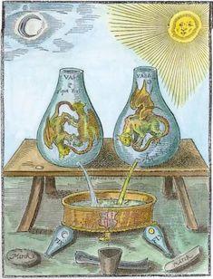Alchemical emblem.