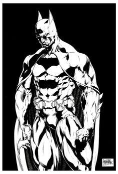BATMAN by ~garnabiuth on deviantART