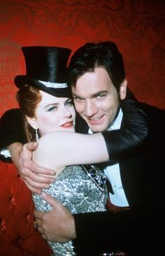 Moulin Rouge - honestly, seeing these two in this film motivates me all the more to be an entertainer, if i can work with people as talented as they are
