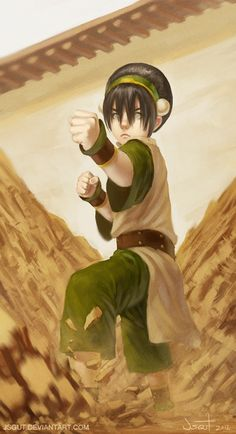 Toph Beifong - Avatar:The Last Airbender