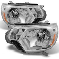 Cheap CPW (tm) 2012-2015 Toyota Tacoma Chrome Replacement Replacement Headlamps…