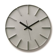 Edge Clock in White design by Lemnos Led Wall Clock, Clock Shop, Weekend Crafts, Cool Clocks, Thing 1, Gifts For Office, Burke Decor, Design Museum, Wall Art Decor