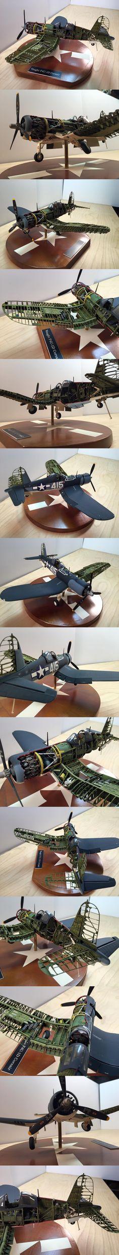 Superb Cut-away Corsair