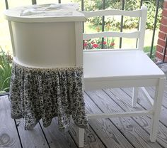 I want one! :) Shabby Cottage Studio ~Gail Schmidt ~ Artist: Before and Afters from the Worktable