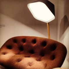 Ploum Sofa by Bouroullec & Peye Lamp by Número 111 for Ligne Roset — I Saloni 2012 | Apartment Therapy